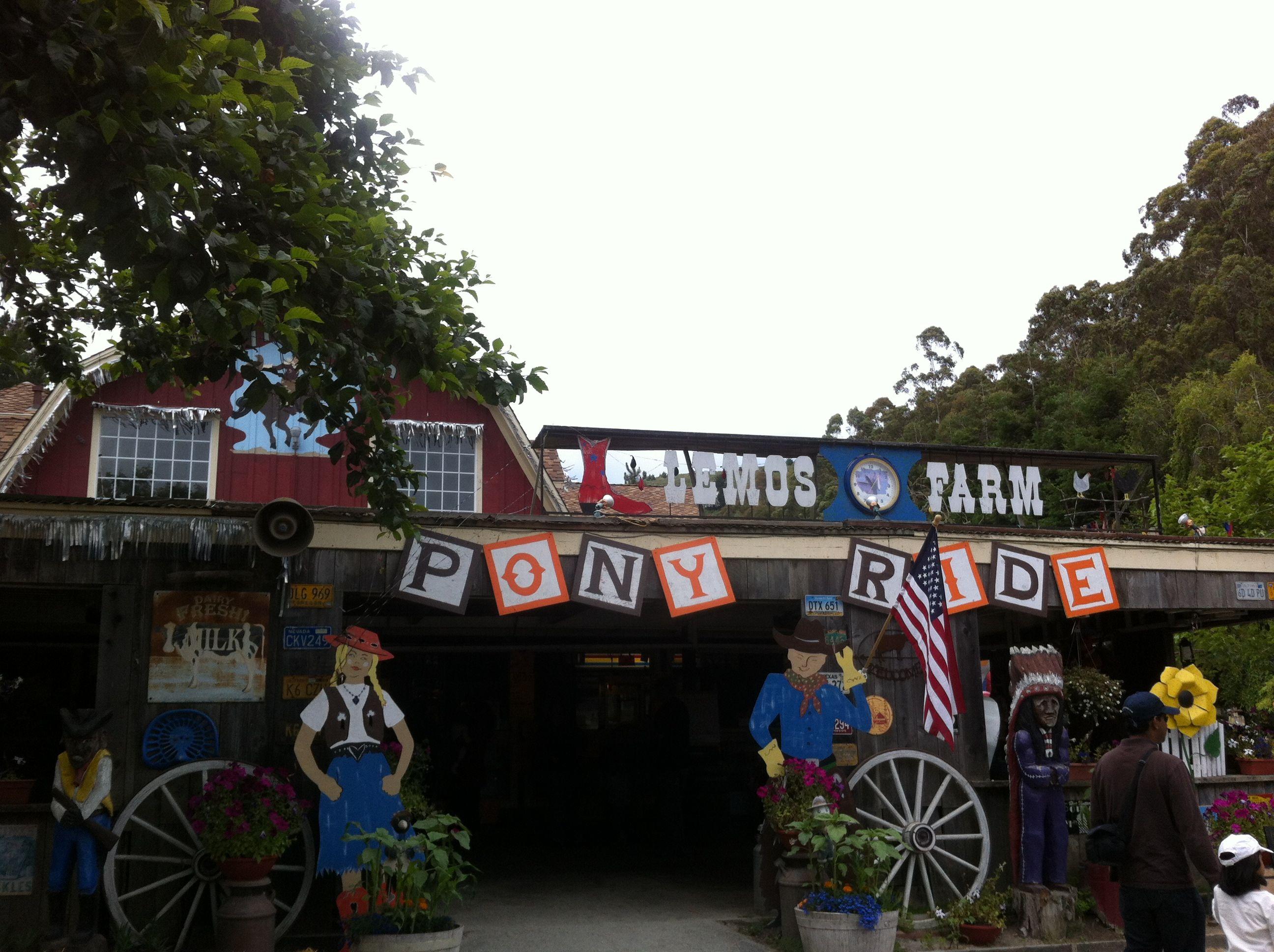 アメリカンなパラダイス系遊園地、レモスファーム