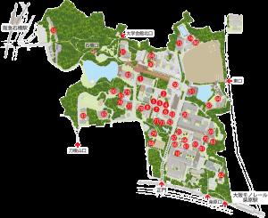 大阪大学豊中キャンパスマップ