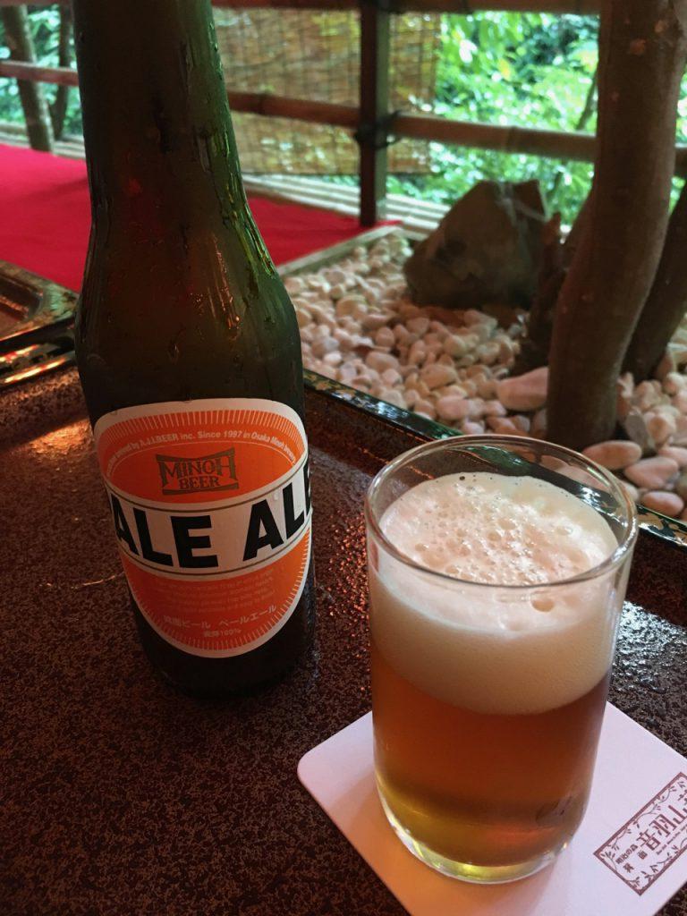 △箕面ビール(ペールエール)