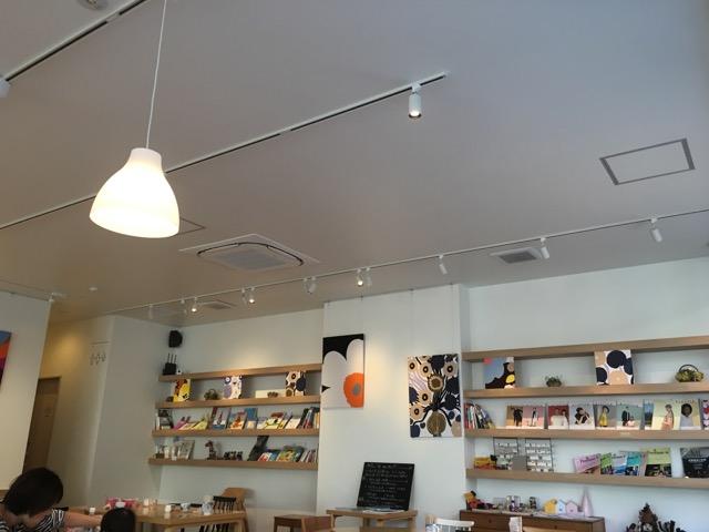 いい一日のカフェでゆったりカフェランチ