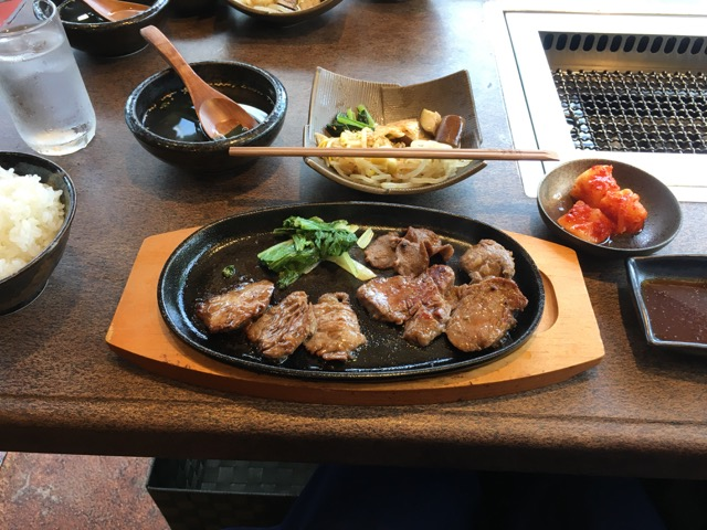 煌牛(きぎゅう)の焼肉ランチ