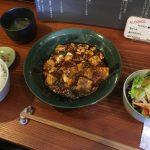 カフェみたいな「こまめや」で四川麻婆豆腐ランチ