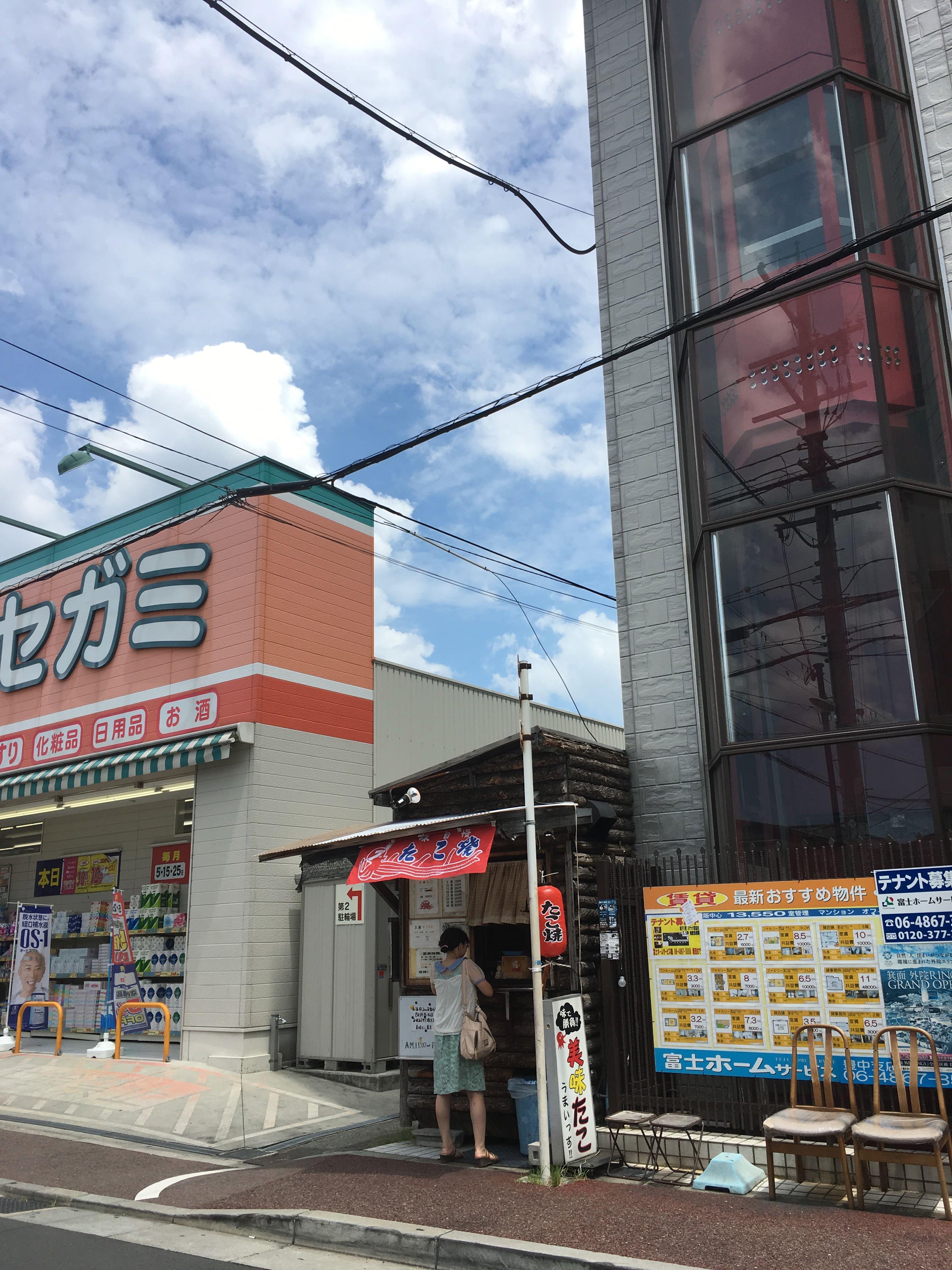 【閉店】5個100円!!豊中駅前の美味たこ!!